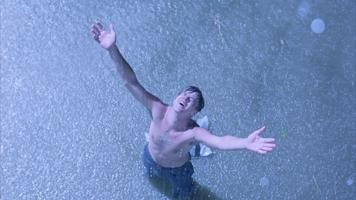 Tim Robbins in 'The Shawshank Redemption' (1994) Beeld Columbia Pictures