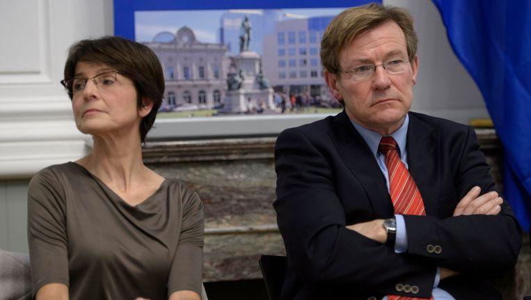 Archiefbeeld Marianne Thyssen en Johan Van Overtveldt. Beeld PHOTO_NEWS