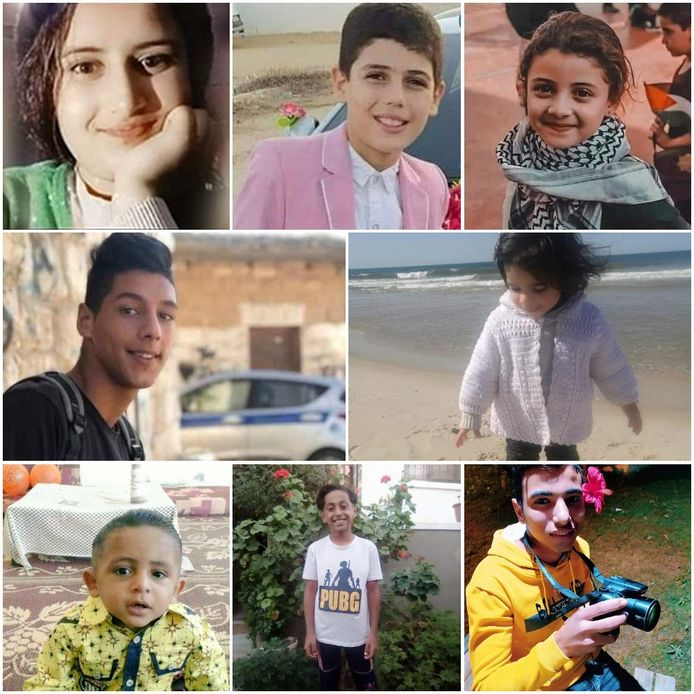 Slachtoffers van conflict Israël Gaza