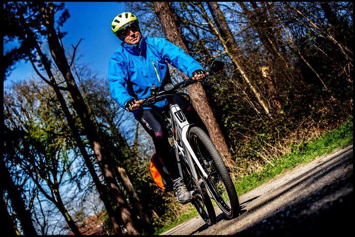 Martin de Vries is zeer ervaren in woon-werkverkeer: hij rijdt elke dag 46 kilometer.