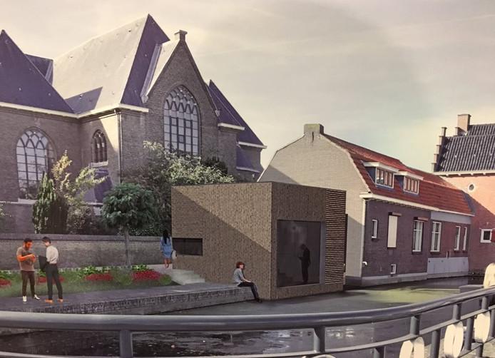Tien inwoners van Oud-Beijerland zijn een petitie begonnen om te voorkomen dat dit ontwerp ook echt wordt uitgevoerd.