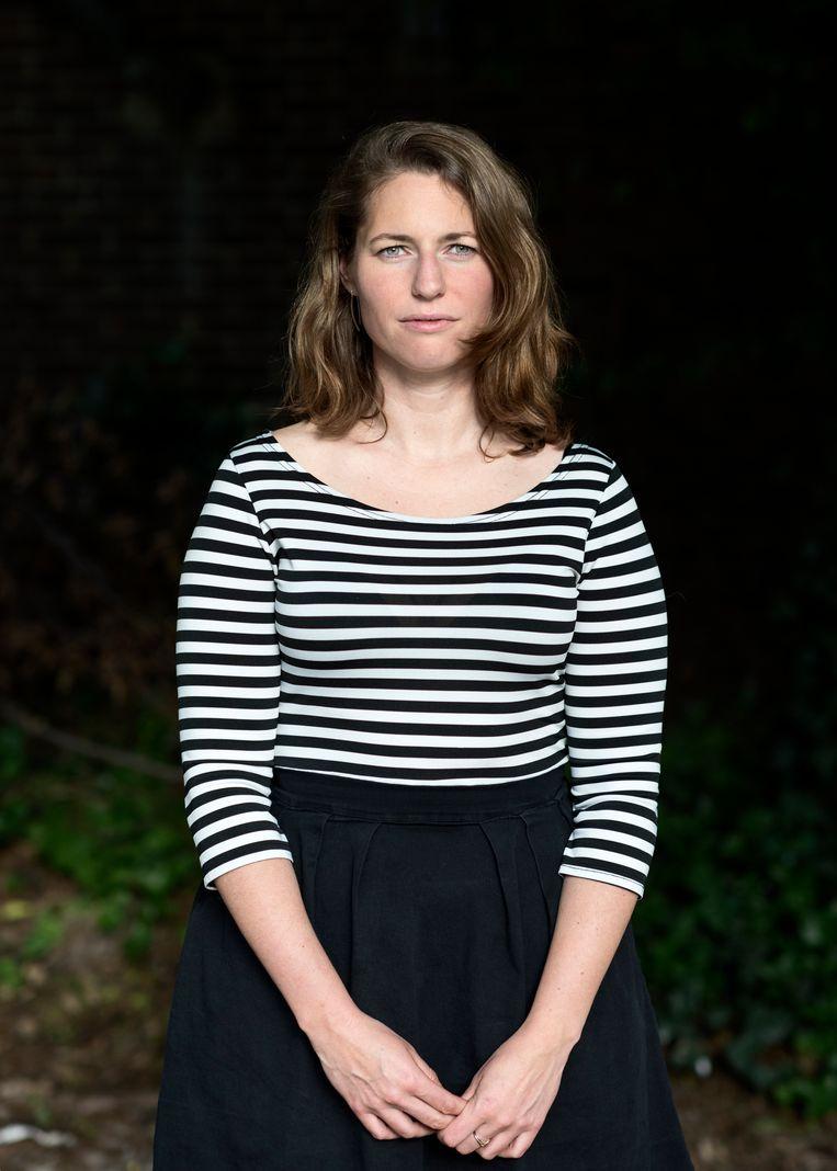 Emi Stikkelman vond in de zoektocht naar haar donorvader in 2010 eerst haar halfzus. De moeder van haar halfzus zag de foto van Stikkelman en herkende haar trekken. Beeld linelle deunk