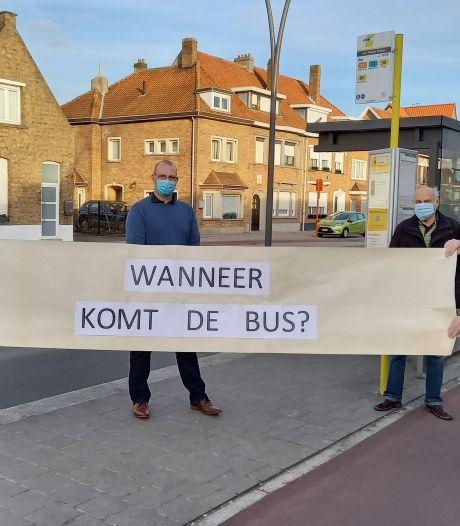 """""""De Lijn laat Sint-Pieters in de steek"""": actievoerders niet te spreken over nieuw vervoersplan"""