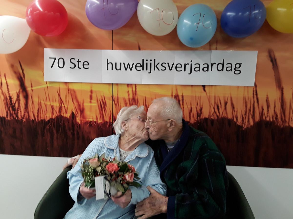 Het was grote liefde tussen Gabriella Wylin en haar man Oscar Van Den Driessche.