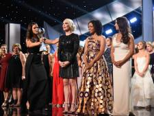 Slachtoffers turnarts Nassar geëerd op gala