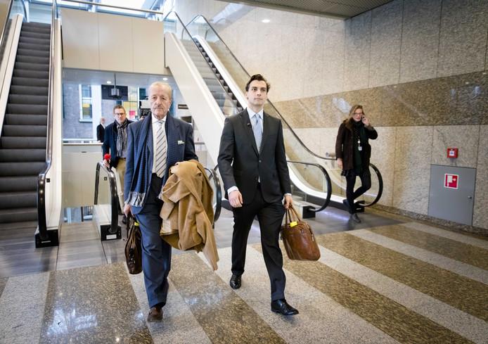 Thierry Baudet en Theo Hiddema van Forum voor Democratie.