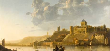 Mooiste schilderij van de Nijmeegse burcht Het Valkhof voor het eerst naar Nederland