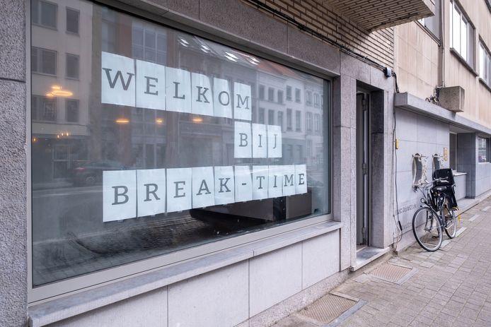 Break Time in de Leopoldstraat