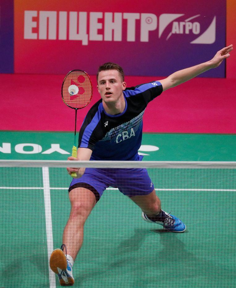 Voor het eerst in 25 jaar enkelt een Nederlandse badmintonner op de Olympische Spelen: Mark Caljouw