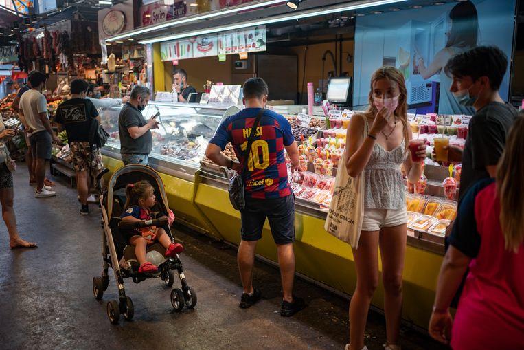 De invloed van Messi blijft groot in Barcelona. Beeld AP