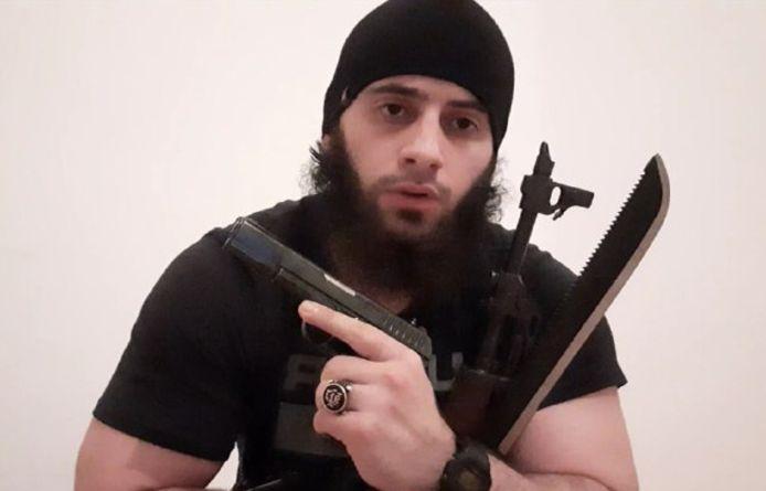 Kujtim Fejzulai (20). IS eiste de aanslag op en deelde deze foto.
