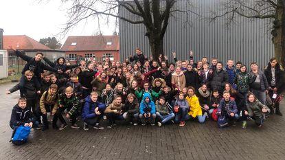 Sint-Lambertusmiddenscholen pakken winst op scholencross