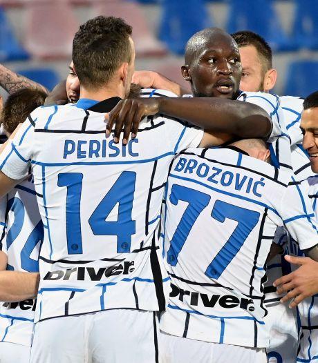 L'Inter de Lukaku tout proche du titre après avoir battu Crotone