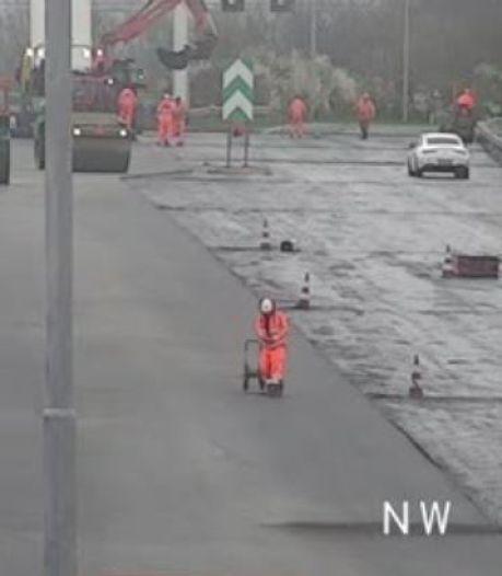 Verkeer kan weer over Volkerakbrug richting Rotterdam: werkzaamheden eerder klaar dan gedacht