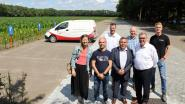 Nieuwe parking met 80 plaatsen aan Wortel-Kolonie
