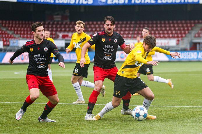 Eerder dit seizoen, op 3 januari, werd het in Rotterdam 0-3 voor NAC.