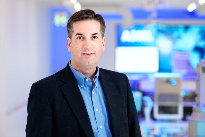 Jim Koonmen van ASML is manager van het overgenomen bedrijf HMI.