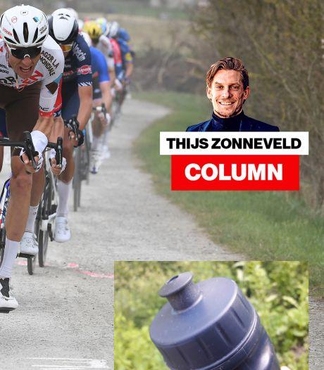 Column Thijs Zonneveld   Ik stond op en hief de bidon boven mijn hoofd, als een trofee