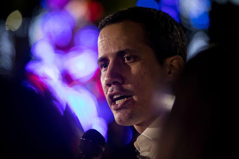 De Venezolaanse oppositieleider Juan Guaido. Beeld EPA