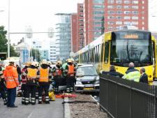 Tramkruising was nog maar net open of eerste ongeval was al een feit