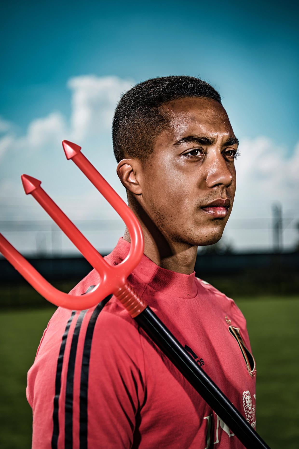 'Het voetbal loopt vol profiteurs. Hoe jonger je debuteert, hoe groter de tsunami die op je afkomt' Beeld Geert Van de Velde