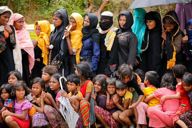 Rohingya in Cox's Bazar in Bangladesh Beeld EPA