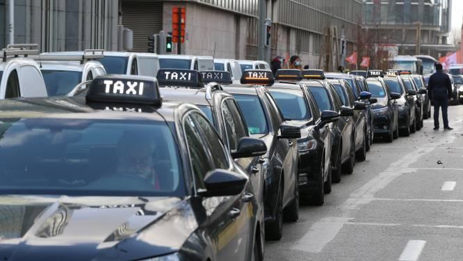 Manifestation sur la politique de mobilité à Bruxelles: les taxis veulent durcir le ton