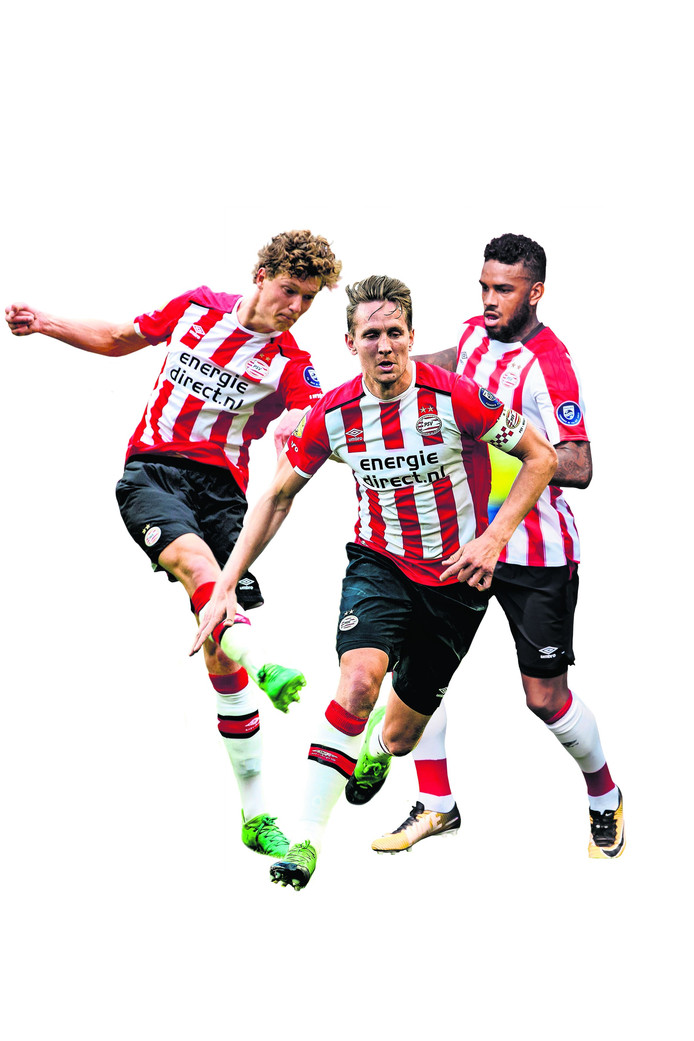 Drie PSV'ers gaan de strijd aan om de centrumspits van PSV te worden.