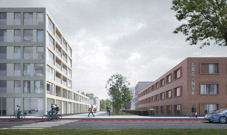 Simulatiebeeld Stadsterras.