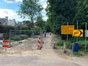 De Jagersboschlaan in Vught is momenteel een zandvlakte.