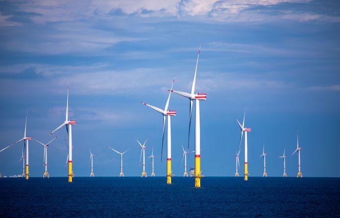 Windmolens in zee met Lievegems geld?