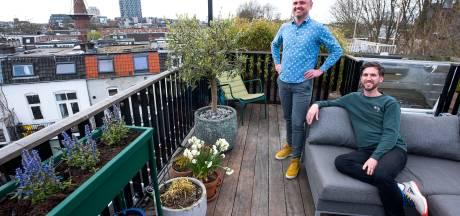 Het huis Dennis en Marc heeft een uitzicht over de Utrechtse 'skyline', maar kost wel wat...