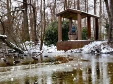 Een 'nutteloos bouwwerk' op eilandje in het Stadswandelpark