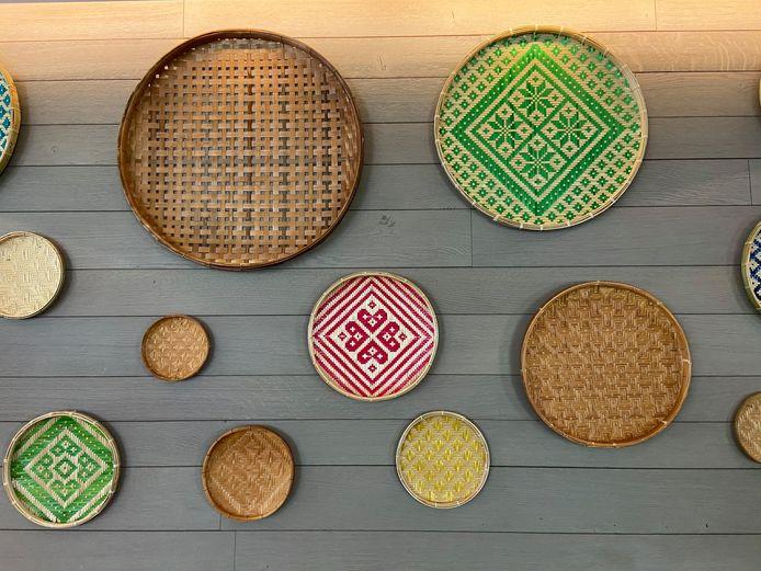 Decoratieve manden uit Thailand