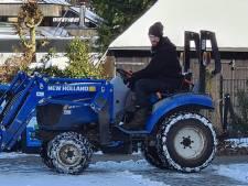 Tractor gestolen van schaapskudde die door Zutphen en Eefde loopt: 'Een beangstigend gevoel'