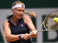 Bertens na acht matchpoints naar finale WTA-toernooi in Palermo