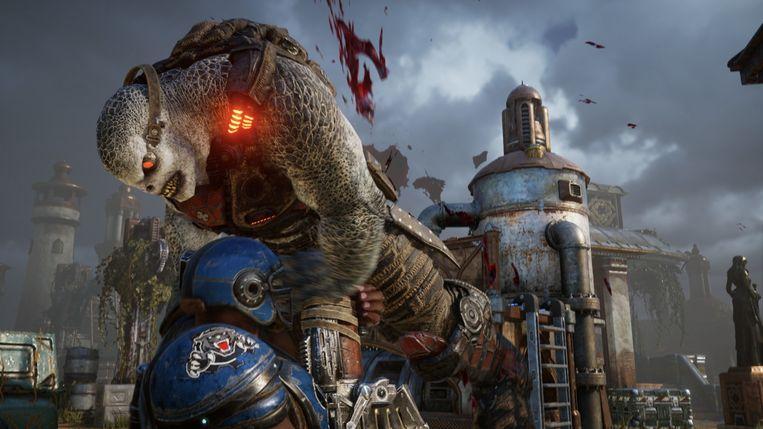 Gears Tactics (Xbox). Beeld
