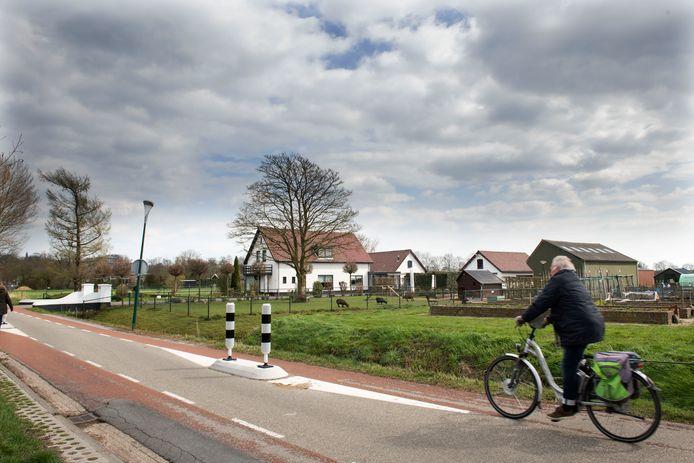 De Middelweg Oost in Wijk bij Duurstede.