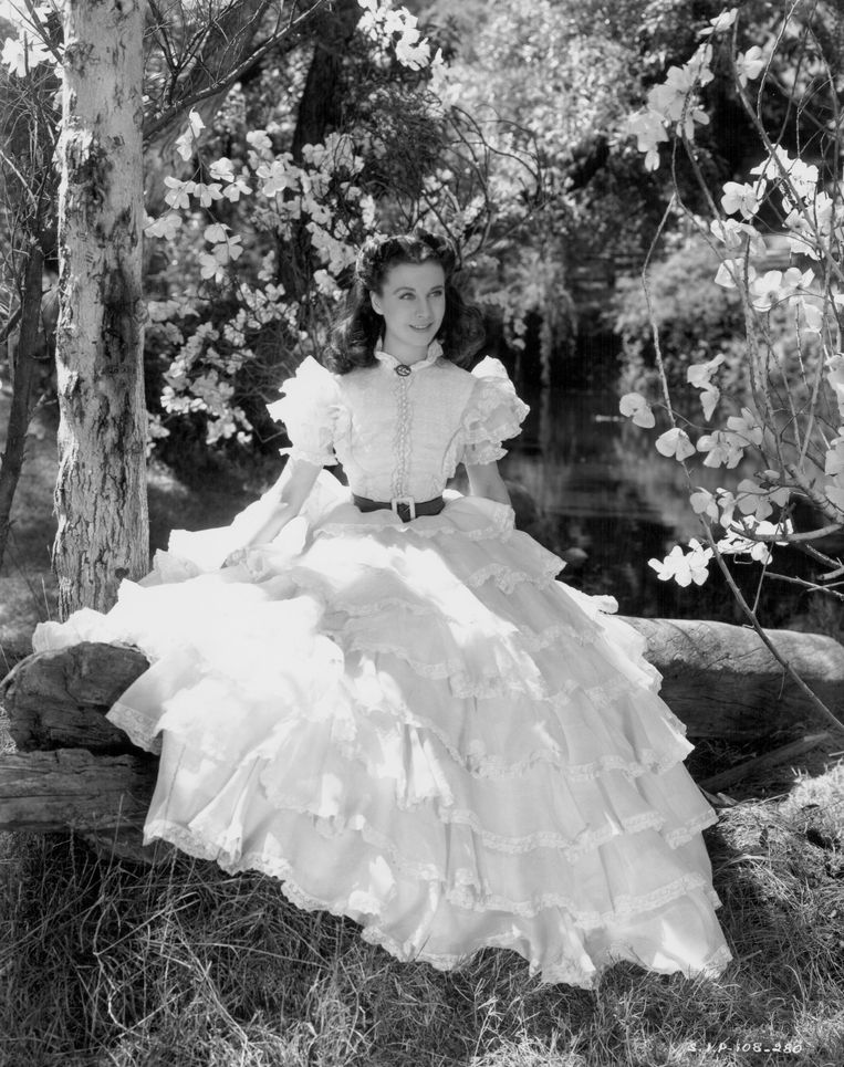 Vivien Leigh in 'Gone with the Wind' (1939). Beeld Getty Images