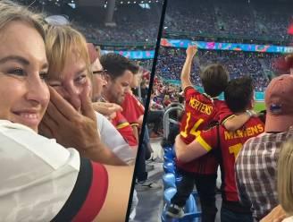 'Katje Voor De Sfeer' zet vliegtuig op stelten, tranen de vrije loop na overwinning tegen Rusland