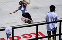 Lore Bruggeman in actie tijdens de halve finales van het wereldkampioenschap in Rome vorige week. Ze werd uiteindelijk vijftiende.