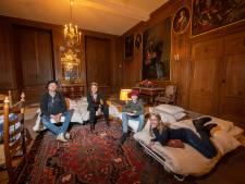 Gezin uit Meppel slaapt op een wel heel bijzondere plek in Vaassen: 'Droom die uitkomt'