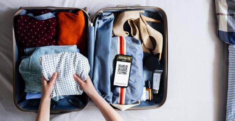 Vrij reizen binnen Europa? Daar heb je déze QR-code voor nodig Beeld Getty Images