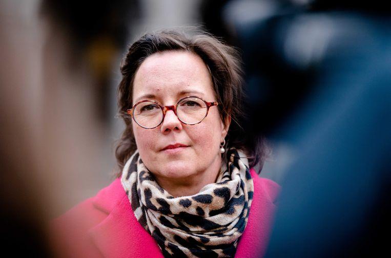 Demissionair minister Tamara van Ark van Medische Zorg. Beeld ANP