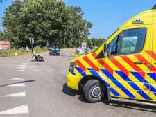 Scooterrijder ernstig gewond bij aanrijding met auto in Lieshout