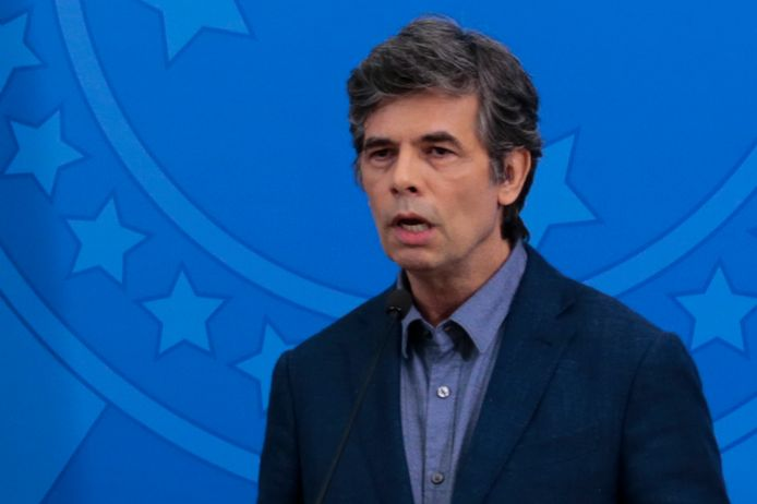 De nieuwe Braziliaanse minister van Gezondheid Nelson Teich.