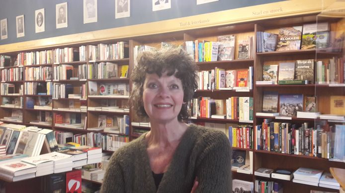 Ine Soepnel van de Zutphense boekenwinkel Van Someren & Ten Bosch.