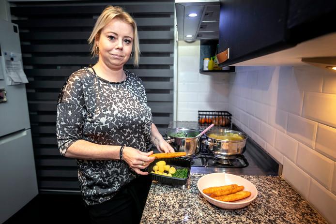 Mariska van Dorst baalde ervan dat ze vaak eten overhield.