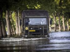 Defensie helpt Waterschap Limburg met opruimen en herstelwerk