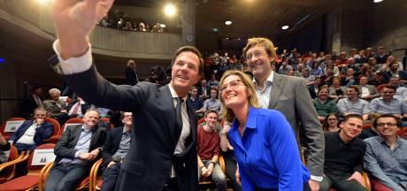 Mark Rutte vanuit Den Haag in gesprek met Twente